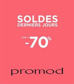Promos de Promod dans le prospectus à Promod ( 7 jours de plus)