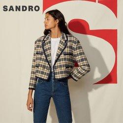 Promos de Marques de luxe dans le prospectus à Sandro ( Expire ce jour)