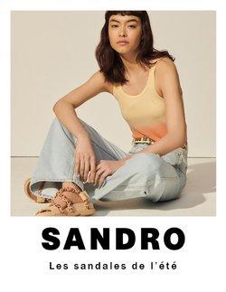 Promos de Marques de luxe dans le prospectus à Sandro ( 24 jours de plus)