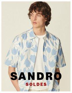 Promos de Marques de luxe dans le prospectus à Sandro ( 2 jours de plus)