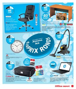 Promos de Humidificateurs dans le prospectus de Office Depot à Paris