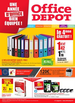 Office depot catalogue code promo et r duction janvier 2018 - Coupon de reduction office depot ...
