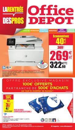 Office Depot coupon ( 7 jours de plus )