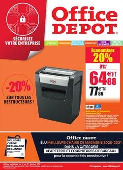 Office Depot coupon ( Expiré )