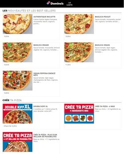 Domino's Pizza coupon ( Plus d'un mois )
