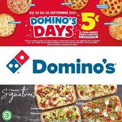 Promos de Restaurants dans le prospectus à Domino's Pizza ( 2 jours de plus)