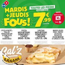 Domino's Pizza coupon ( Expire ce jour)