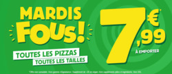 Promos de Restaurants dans le prospectus de Domino's Pizza à Nancy