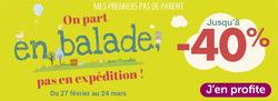 Promos de autour de bébé dans le prospectus à Nice