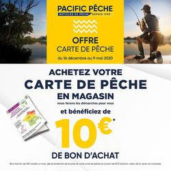 Pacific Pêche coupon à Chalon-sur-Saône ( Plus d'un mois )