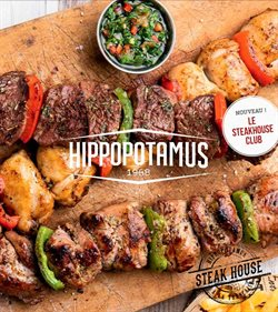 Promos de Restaurants dans le prospectus de Hippopotamus à Marseille ( Plus d'un mois )
