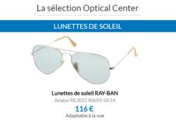 Promos de Optical Center dans le prospectus à Paris
