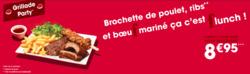 Promos de Flunch dans le prospectus à Paris