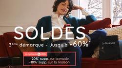 Promos de La Redoute dans le prospectus à Paris