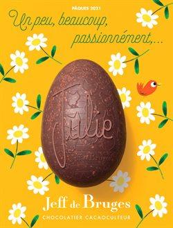 Promos de Pâques dans le prospectus à Jeff de Bruges ( 8 jours de plus)