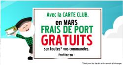 Promos de Au vieux campeur dans le prospectus à Paris