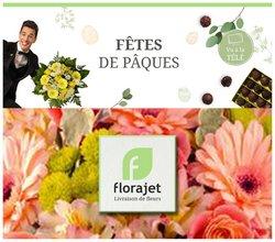 Promos de Pâques dans le prospectus à Florajet ( 10 jours de plus)