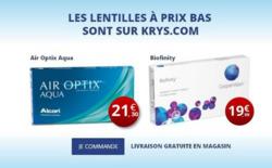 Promos de Opticiens et Soins dans le prospectus de Krys à Roanne