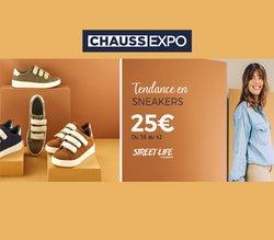Promos de Vêtements et Chaussures dans le prospectus à Chauss Expo ( Nouveau)