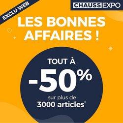 Chauss Expo coupon ( 15 jours de plus)