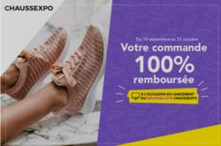 Promos de Chauss Expo dans le prospectus à Calais