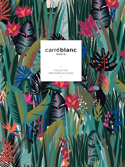 carré blanc coupon à Paris ( Plus d'un mois )