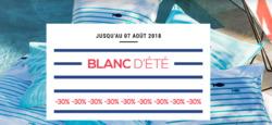 Promos de carré blanc dans le prospectus à Paris