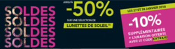 Promos de Opticiens et Soins dans le prospectus de Grand Optical à Roanne
