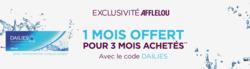 Promos de Alain Afflelou dans le prospectus à Paris