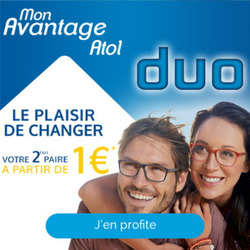 Promos de Atol les opticiens dans le prospectus à Paris