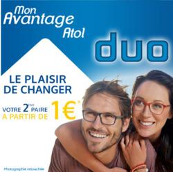 Promos de Atol les opticiens dans le prospectus à Paris
