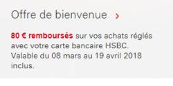 Promos de HSBC dans le prospectus à Paris