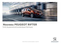 Promos de Peugeot dans le prospectus à Paris