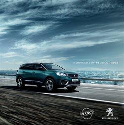 Promos de Voitures, Motos et Accessoires dans le prospectus de Peugeot à Paris
