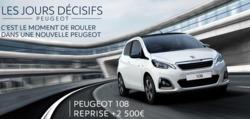 Promos de Peugeot dans le prospectus à Nice