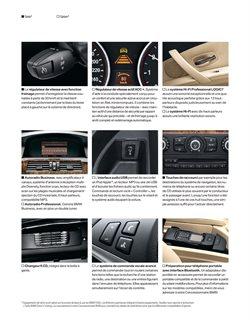 Promos de Autoradio dans le prospectus de BMW à Paris