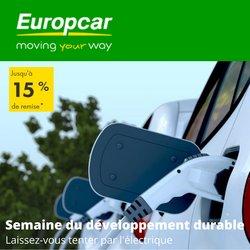 Promos de Voitures, Motos et Accessoires dans le prospectus à Europcar ( Nouveau)