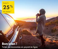 Promos de Europcar dans le prospectus à Paris