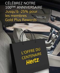 Promos de Hertz dans le prospectus à Aix-en-Provence