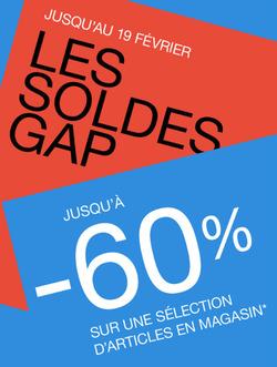 Promos de Gap dans le prospectus à Paris