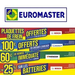 Euromaster coupon ( 10 jours de plus)