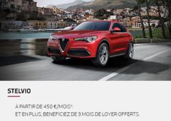 Promos de Alfa Romeo dans le prospectus à Paris