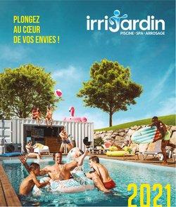 Promos de Jardineries et Animaleries dans le prospectus à Irrijardin ( Nouveau)