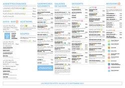 Promos de Restaurants dans le prospectus à Cojean ( 30 jours de plus)