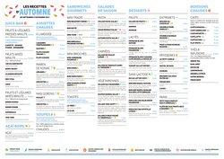 Promos de Restaurants dans le prospectus à Cojean ( Publié hier)