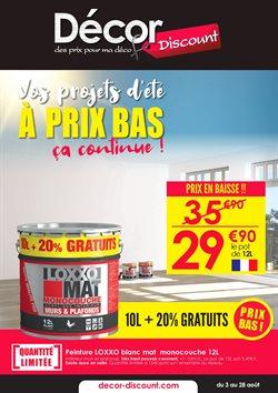 Promos de Meubles et Décoration dans le prospectus à Décor Discount ( 25 jours de plus)