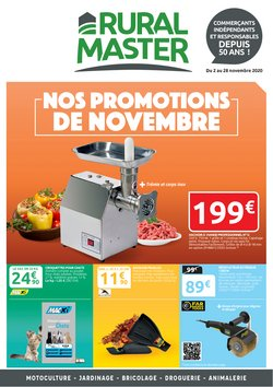 Rural Master coupon ( Expiré )