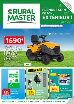 Promos de Jardineries et Animaleries dans le prospectus de Rural Master à Toulouse ( 13 jours de plus )