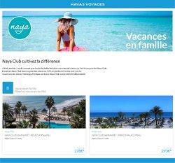 Havas Voyages coupon ( 11 jours de plus )