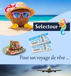 Promos de Voyages dans le prospectus à Selectour Afat ( 28 jours de plus)